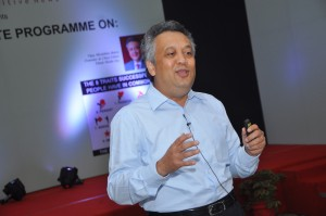 Vijay Batra in Chhattisgarh CSR Conclave in Chhattisgarh on 2013.