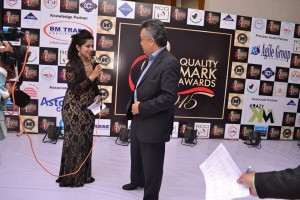 Vijay Batra @ Quality Mark Awards 2015 , Rajasthan